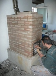 Corso di autocostruzione stufa in muratura san rocco for Stufa autocostruita